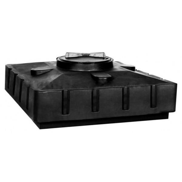 Бак для душа Aquatech 120 950х950х305 (черный), шт