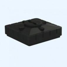 Бак для душа Aquatech 240 1100х1100х380 (черный), шт