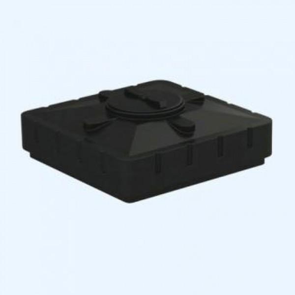 Бак для душа Aquatech с подогревом 1100х1100х380 (черный), шт