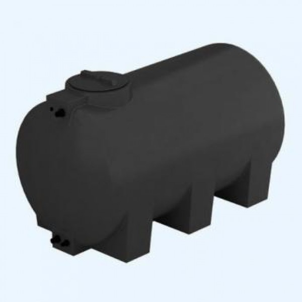 Бак пластиковый для воды Aquatech ATH 1000 1000 л с поплавком (черный), шт