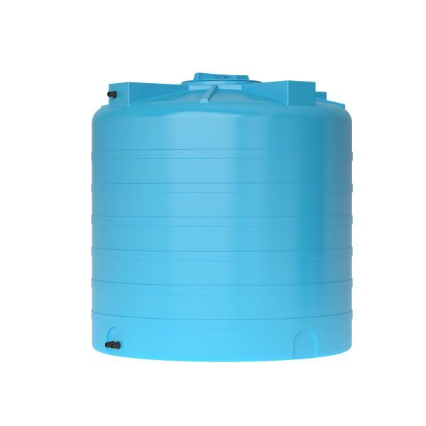 Бак пластиковый для воды Aquatech ATV-1000 1000 л с поплавком (синий), шт
