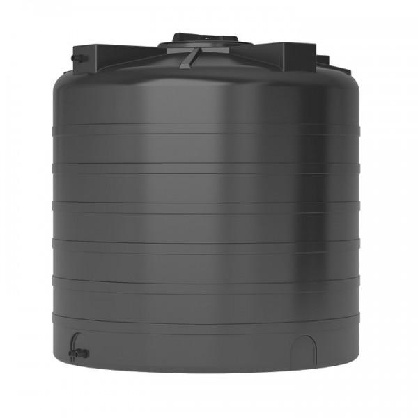 Бак пластиковый для воды Aquatech ATV-1000 B 1000 л с поплавком (черный), шт