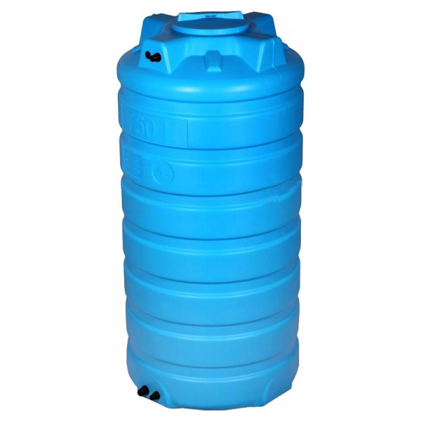 Бак пластиковый для воды Aquatech ATV-1500 B 1500 л с поплавком (черный), шт