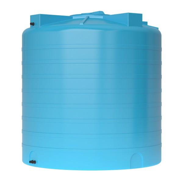Бак пластиковый для воды Aquatech ATV-200 200 л с поплавком (черный), шт