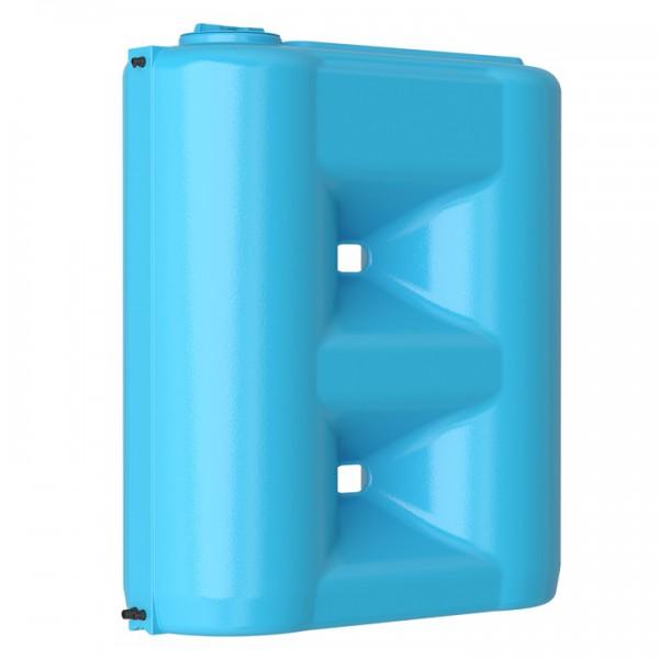 Бак пластиковый для воды Aquatech Combi W-2000 BW 2000 л с поплавком (сине-белый), шт