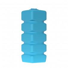 Бак пластиковый для воды Aquatech Quadro W-1000 1000 л с поплавком (синий), шт