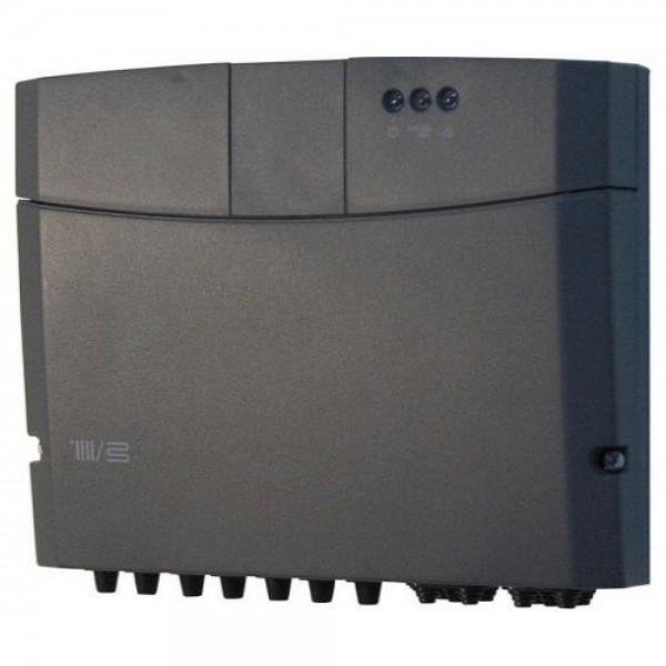 Комплект коаксиальный d80/125 вертикальный черный Ariston