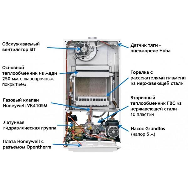 Котел газовый BAXI ECO Nova 14F