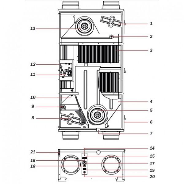 Вентиляционная установка Blizzard RS 200