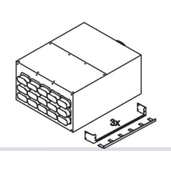 Коллектор Blizzard, 15 подключений 50x100 мм Ø180 мм, металл