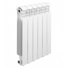 Радиатор алюминиевый Global ISEO 500 2676 серый x10