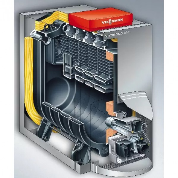 Котел комбинированный Viessmann Vitorond 100 VR2BB96 80 кВт