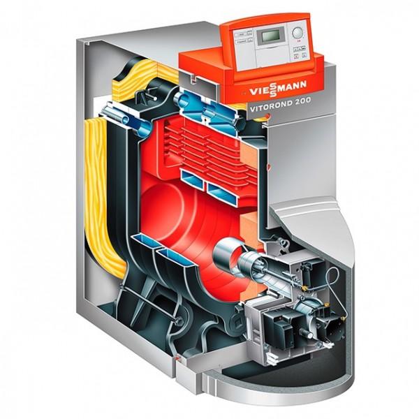 Котел комбинированный Viessmann Vitorond 200 VD2A815 160 кВт