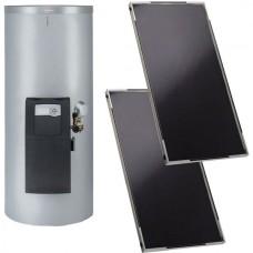 Коллектор солнечный плоский Viessmann Vitosol 141-FM 4,46 м2 с бойлером